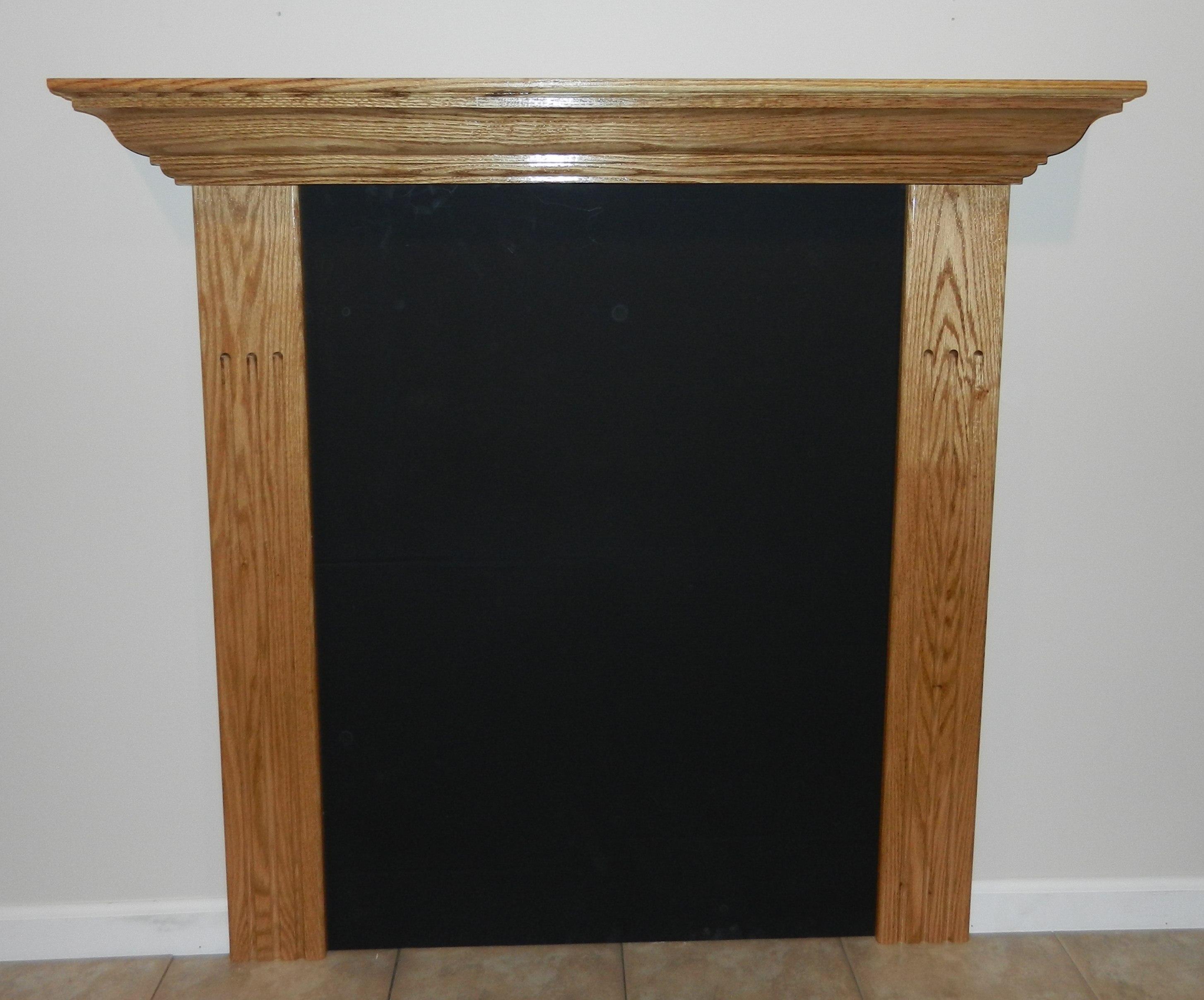 classic surround fireplace mantel shelf