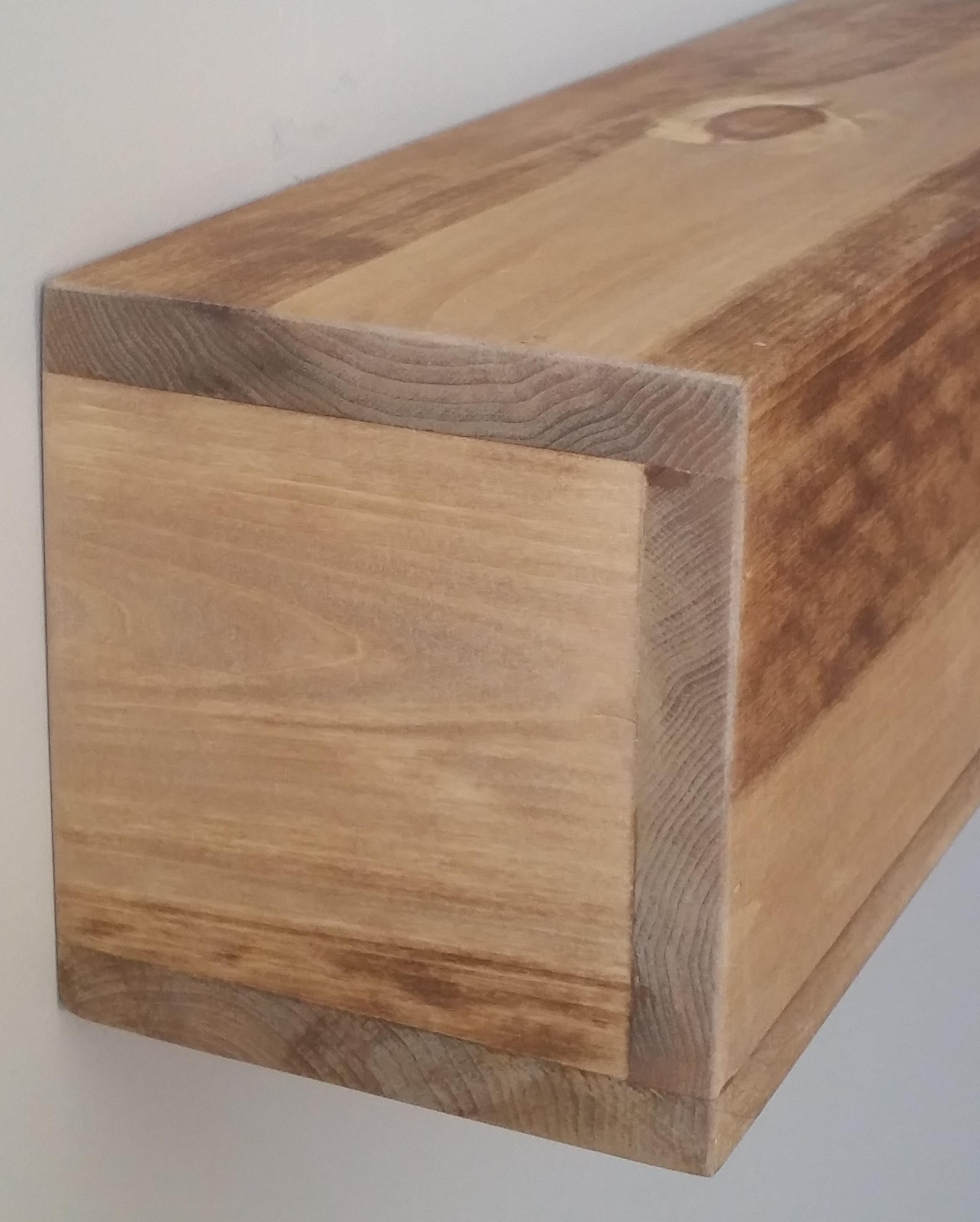 beam fireplace mantel shelf